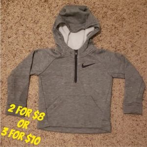 ❤ ‼Minor Flaw‼Kids Nike Dri Fit Hoodie